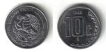 monedas de America - México -  10 Centavos