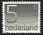 Stamps Netherlands -  Numeros