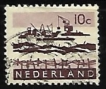 Sellos de Europa - Holanda -  Plan Delta