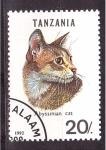 Stamps Tanzania -  serie- gatos