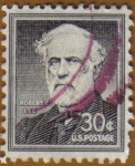 Stamps United States -  Robert Lee