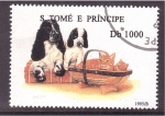Sellos de Africa - Santo Tomé y Principe -  serie- anim. domésticos