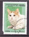 Stamps Cambodia -  ga