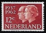 Stamps Netherlands -  Reina Juliana y principe Bernard