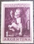 Stamps : America : Argentina :  Gratitud. 1956