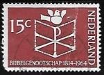 Sellos de Europa - Holanda -  Monograma cristiano