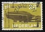 Sellos de Europa - Holanda -  Universidad Técnica de Delft