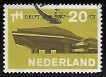 Stamps Netherlands -  Universidad Técnica de Delft