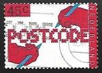 Stamps Netherlands -  Codigo postal