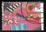 Stamps Netherlands -  Greetings stamps