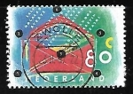 Stamps of the world : Netherlands :  carta