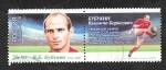 Sellos del Mundo : Europa : Rusia :  417 H.B. - R. V. B. Bubukin, leyenda del fútbol ruso
