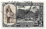 Stamps America - Bolivia -  Conmemoracion del centenario de la creacion del departamento del Beni