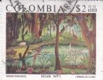 Sellos del Mundo : America : Colombia :  SELVA