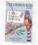 Stamps Colombia -  UPU-AVES DE COLOMBIA