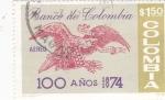 Stamps Colombia -  100 AÑOS BANCO DE COLOMBIA