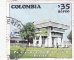 Stamps : America : Colombia :  PALACIO DE LA GOBERNACIÓN PEREIRA