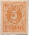 Stamps Estonia -  Y & T Nº 6