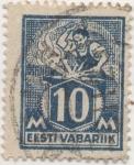 Stamps Estonia -  Y & T Nº 56