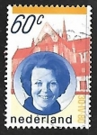 Stamps of the world : Netherlands :  Reina Beatriz