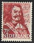 Sellos de Europa - Holanda -  MICHIEL ADRIAANSZOON DE RUYTER 1607-1676