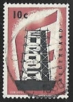 Stamps of the world : Netherlands :  Europa