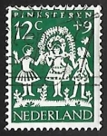 Stamps of the world : Netherlands :  Niños
