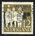 Stamps Netherlands -  Triumbirato