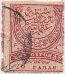 Sellos del Mundo : Asia : Turquía : Imp_Otomano Y & T Nº 56