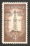 Sellos de America - Estados Unidos -  673 - Centº de la industria del petróleo