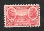 Stamps : America : United_States :  353 - A.Jackson y Scott