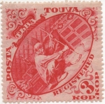 Stamps Russia -  Touva Y & T Nº 41