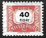 Stamps Hungary -  Franqueo insuficiente