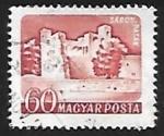 Sellos de Europa - Hungría -  Castillo Sárospatak