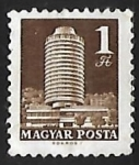 Stamps Hungary -  Hotel Budapest