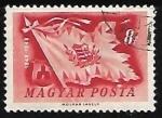 Stamps Hungary -  Bandera de la guerra de la independencia