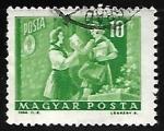 Sellos de Europa - Hungría -  Cartera pionera