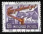 Sellos de Europa - Hungría -  Cuando conduzca no beba