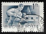 Stamps Hungary -  Construccion naval