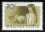 Stamps : Europe : Hungary :  Pastor