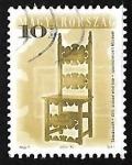 Sellos del Mundo : Europa : Hungría : Muebles de diseño antiguos