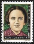 Sellos de Europa - Hungría -  Flóra Martos (1897-1938)