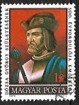 Sellos de Europa - Hungría -  György Dózsa (1474-1514)