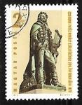 Stamps Hungary -  Mihaly Csokonai Vitéz (1773-1805)