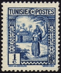 Stamps Tunisia -  COL-PORTADORA DE AGUA