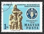 Sellos de Europa - Hungría -  Oficina Regional de la FAO para Europa  y Asia Central