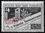 Sellos del Mundo : Europa : San_Marino : San Marino-cambio