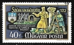Sellos de Europa - Hungría -  Géza de Hungría