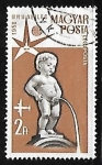 Stamps Hungary -  Manneken Pis, Brussels