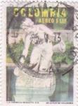 Stamps : America : Colombia :  La Rebeca-Bogota